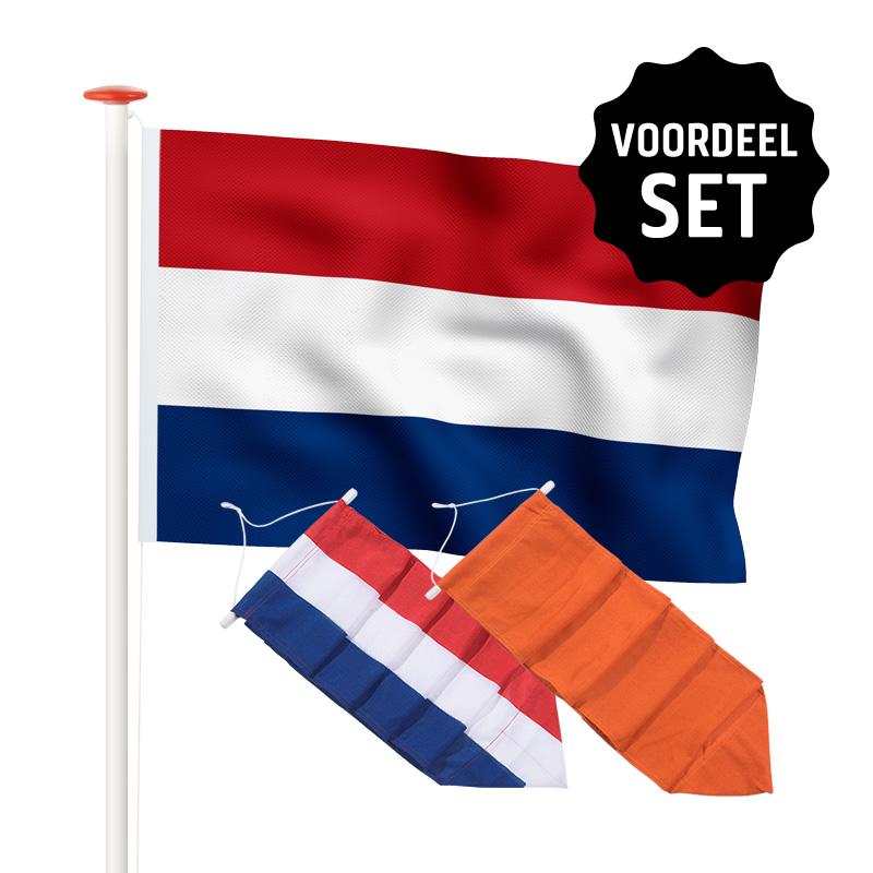 Actiesets Nederlandse vlag