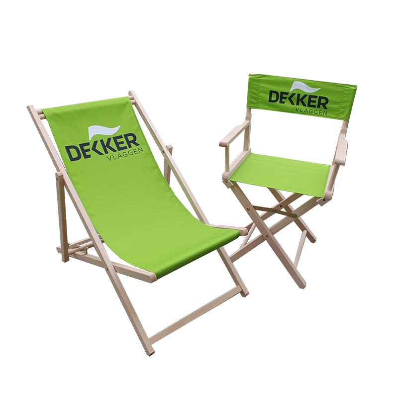 Bedrukte stoelen