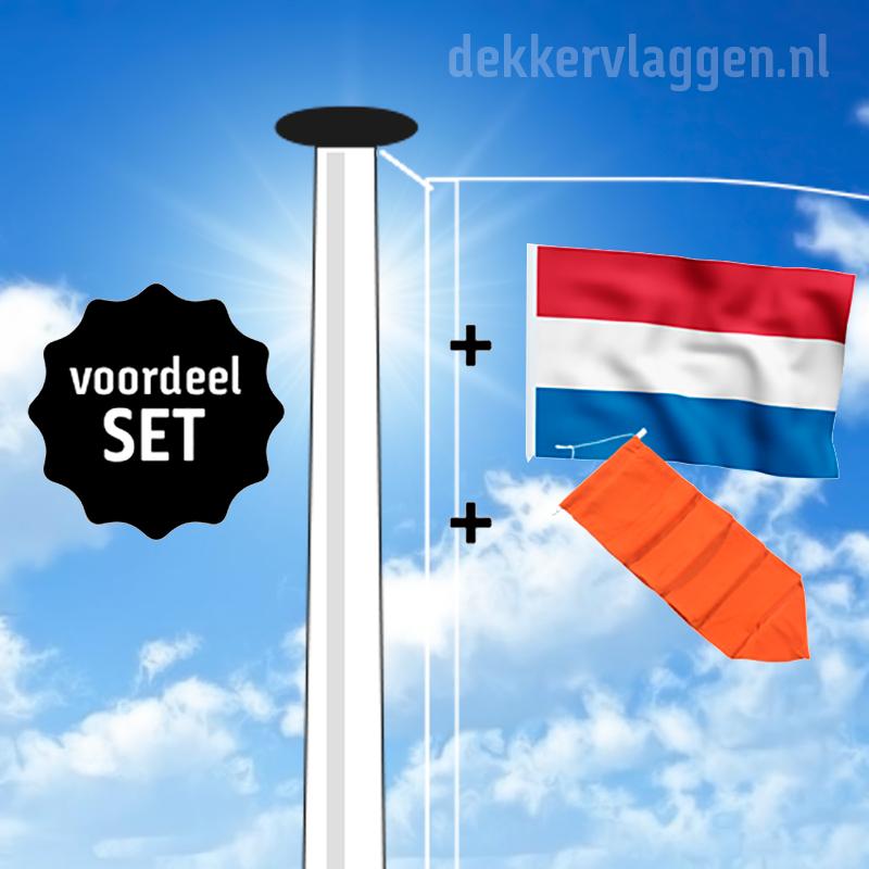 Aanbiedingssets vlaggenmasten
