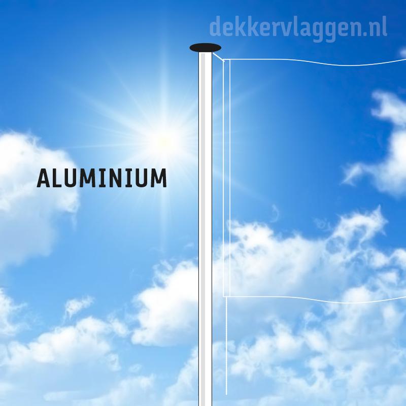 Aluminium vlaggenmasten
