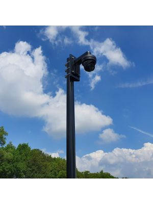 Cameramast met kantelanker aluminium diameter 90 mm