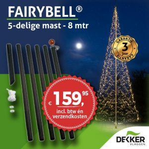 Fairybell vlaggenmast 8 meter