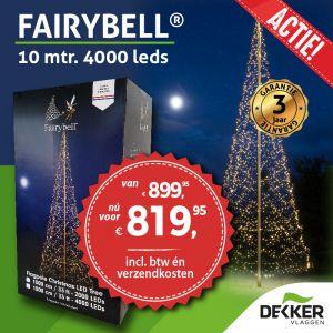 Fairybell 10 meter 4000 Led