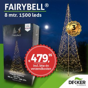 Fairybell 6 meter 900 Led